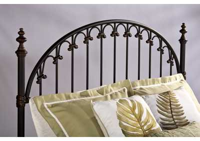 Image for Kirkwell King Headboard w/Rails