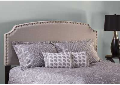Image for Lani Queen Headboard w/Frame - Light Linen Gray