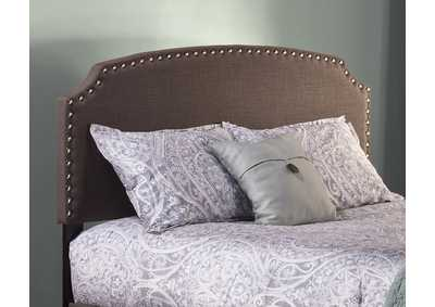 Image for Lani Queen Headboard w/Frame - Dark Linen Gray