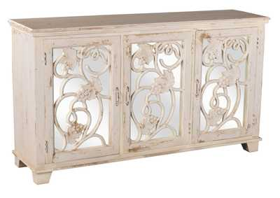 Image for Malbec Decorative Mirrored Console Table