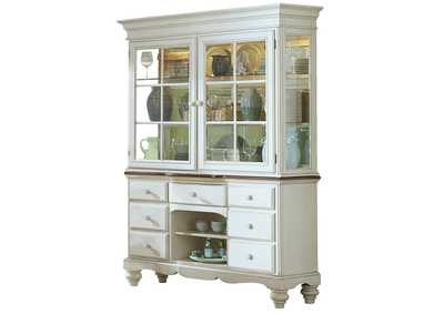 Image for Pine Old White Island Buffet & Hutch