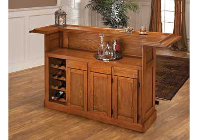 Image for Classic Large Oak Bar