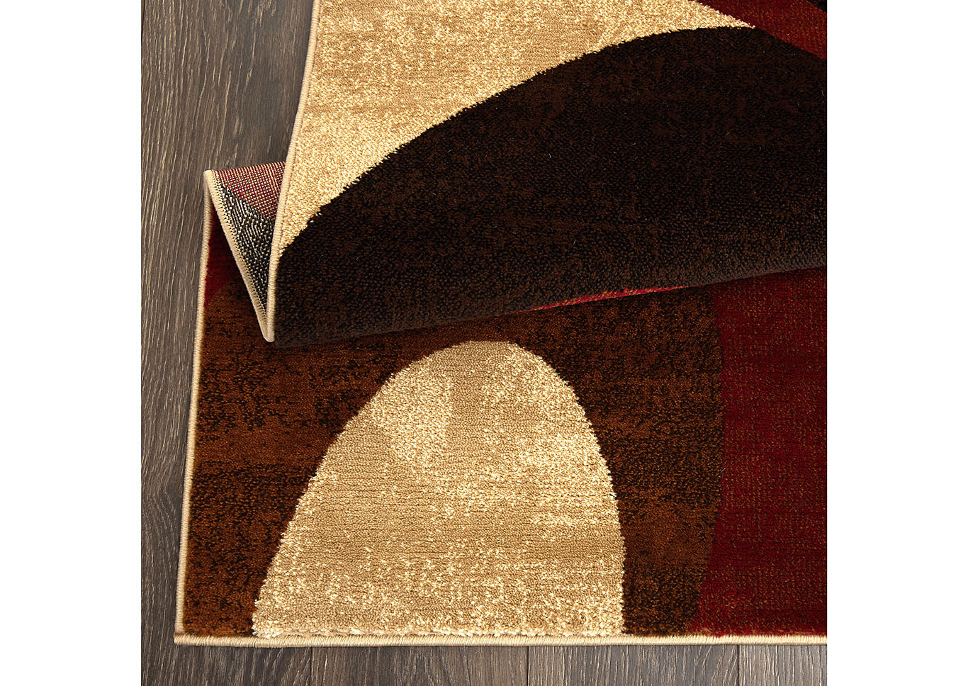 "Home Dynamix Tribeca Slade Contemporary Area Rug 7'10""x10'6"" Abstract Brown/Red,Home Dynamix"