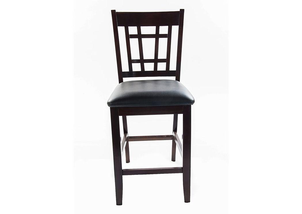 Pleasant 400591 Capuccino Charleston Side Chair 2Pcs Beatyapartments Chair Design Images Beatyapartmentscom
