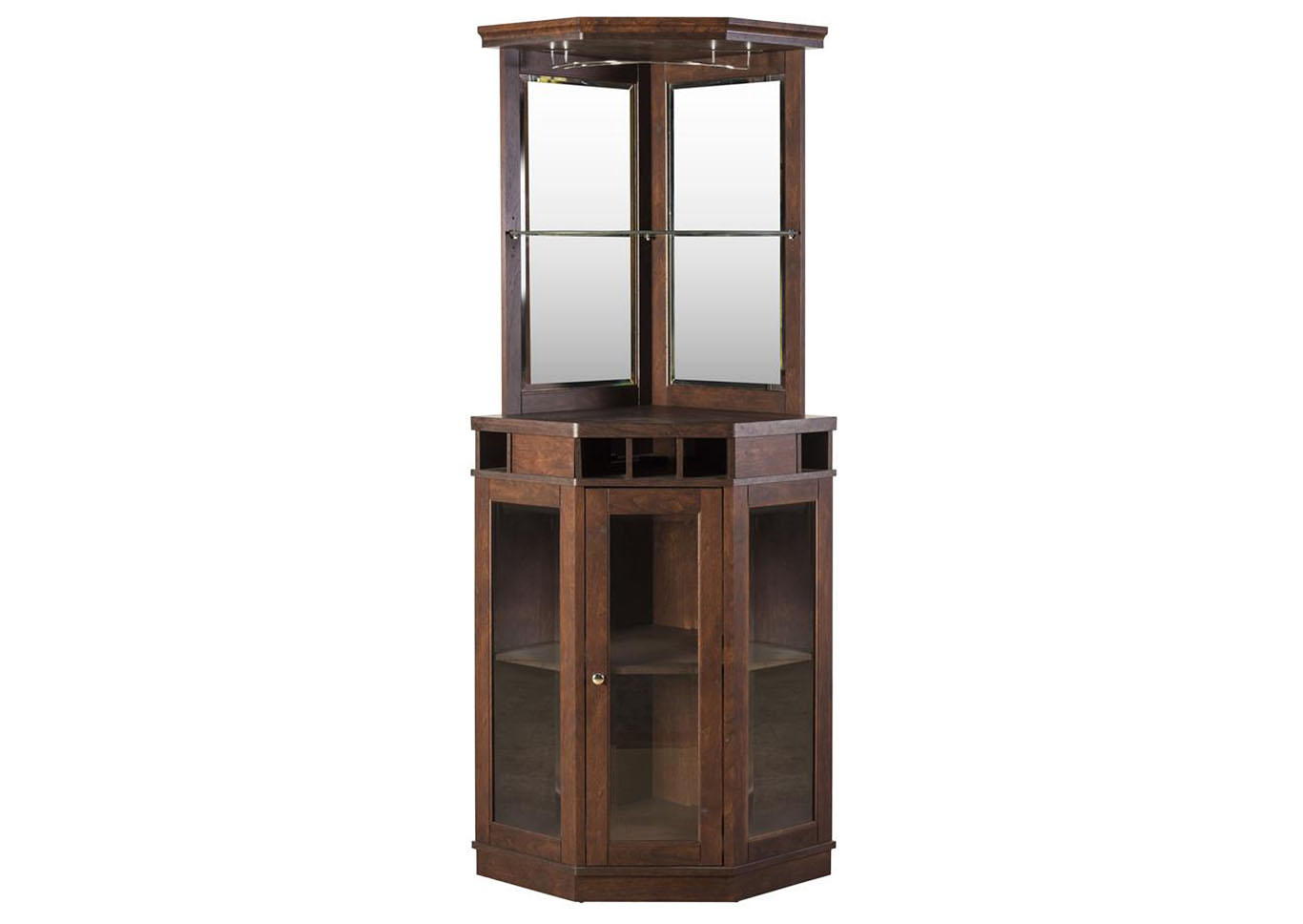 Mahogany Corner Bar Unit,Home Source