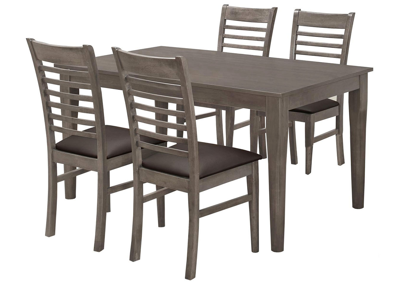 Outstanding The Furniture Outlet Ny Grey Oak Side Chair Case Pack 2 Machost Co Dining Chair Design Ideas Machostcouk