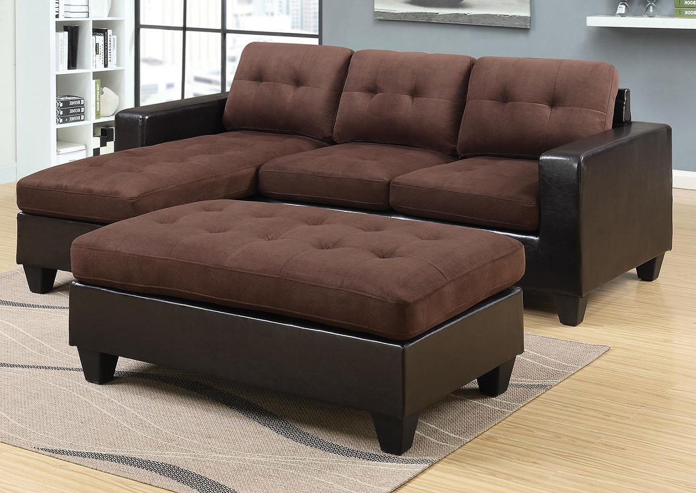 Fantastic Roses Flooring And Furniture Norwalk Brown Sofa W Ottoman Machost Co Dining Chair Design Ideas Machostcouk