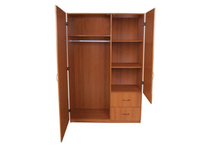Cherry Large 2 Door Wardrobe