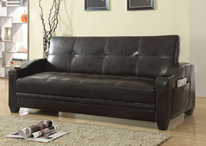Brown Sofabed No Storage -PU-011