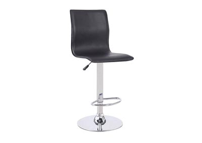 Black Gas Lift Bar Stool