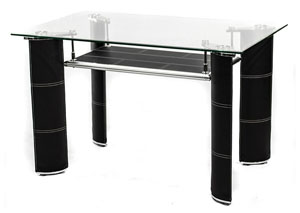 Sabinal Coffee Black Complete Table