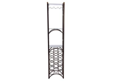 Bronze Wine Rack