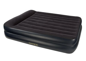 Blue Downy Air Queen Bed w/120V Pump