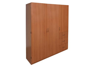 Image for Cherry Large Wardrobe