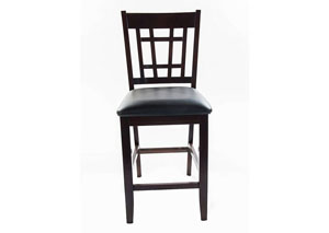 Capuccino Charleston Side Chair(2Pcs)