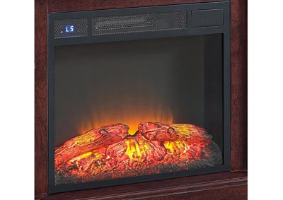 Black Electrical Fireplace