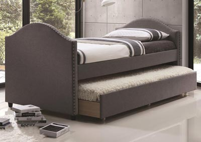 Lux Grey Daybed w/Trundle