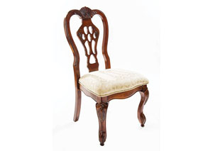 Brown Cherry Side Chair