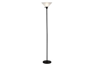 Black Touchier Lamp
