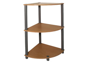 Beech Corner 3 Shelf Rack