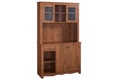 Oak Hills Red Oak China Cabinet