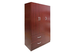 Image for Mahogany 2 Door Wardrobe