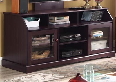 Alessia Tobacco TV Stand w/Mount