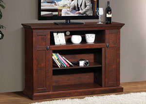 Dark Walnut TV Stand w/Storage