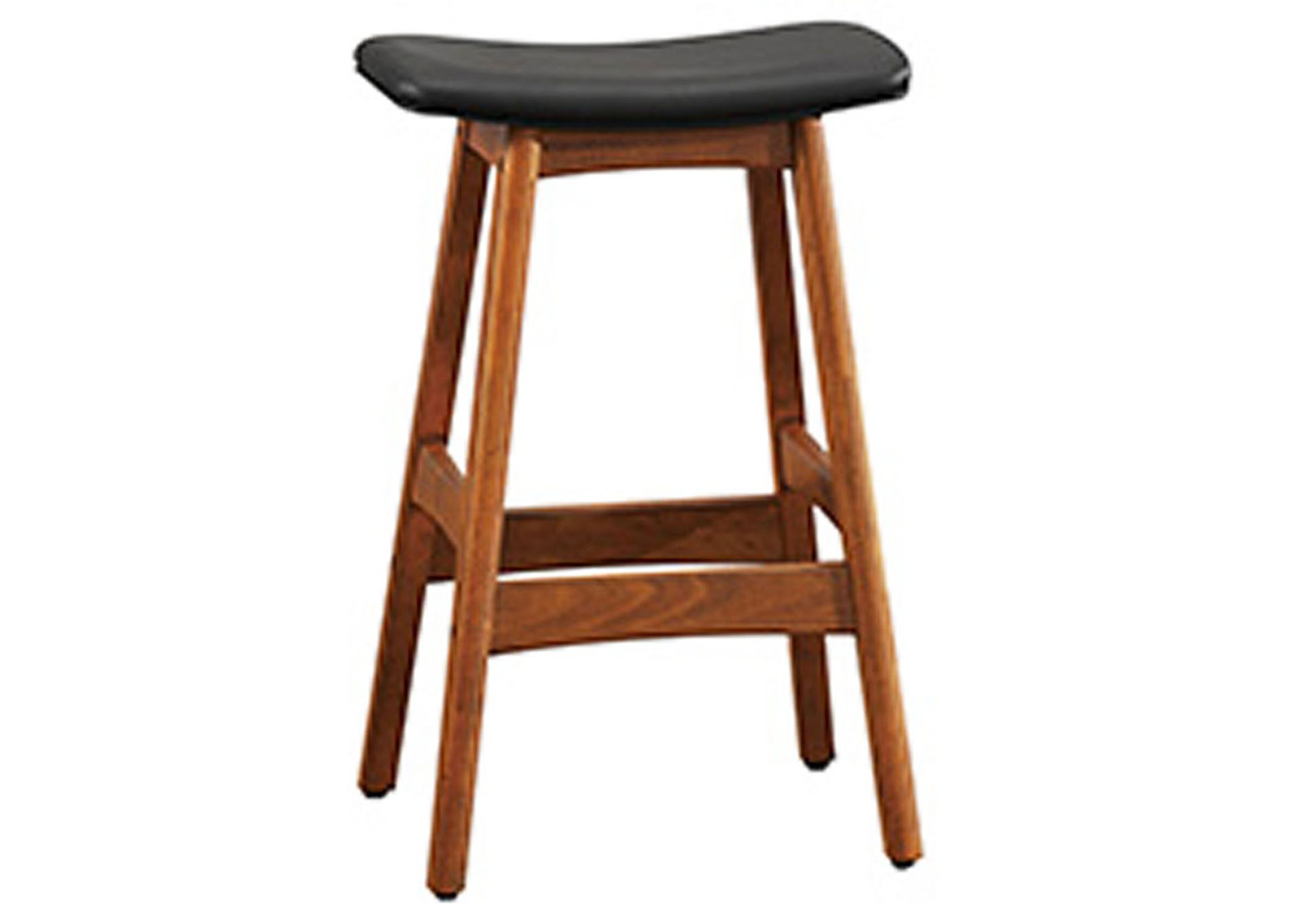 Black Counter Height Stool,Homelegance