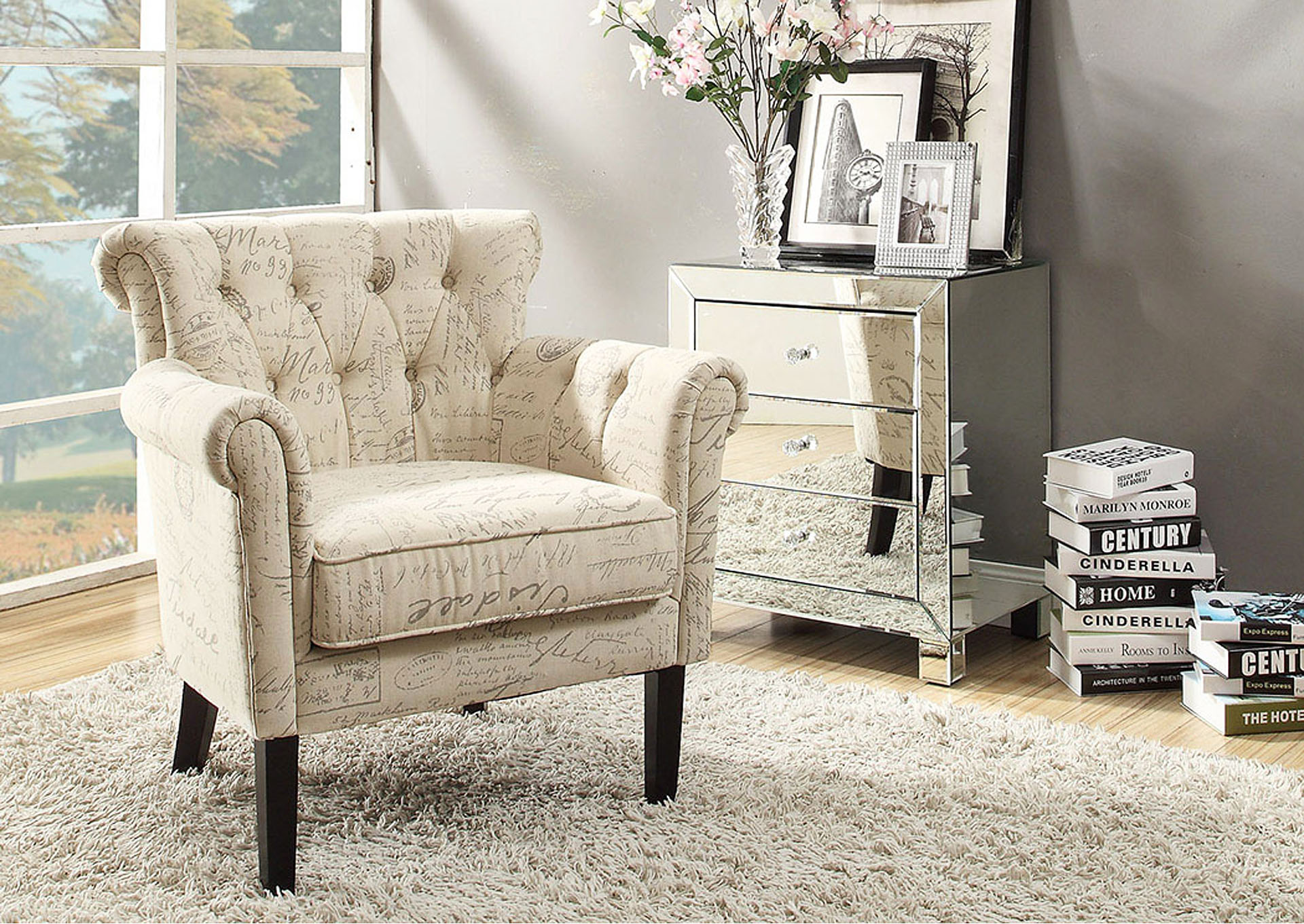 Orson Multicolor Accent Chair,Homelegance