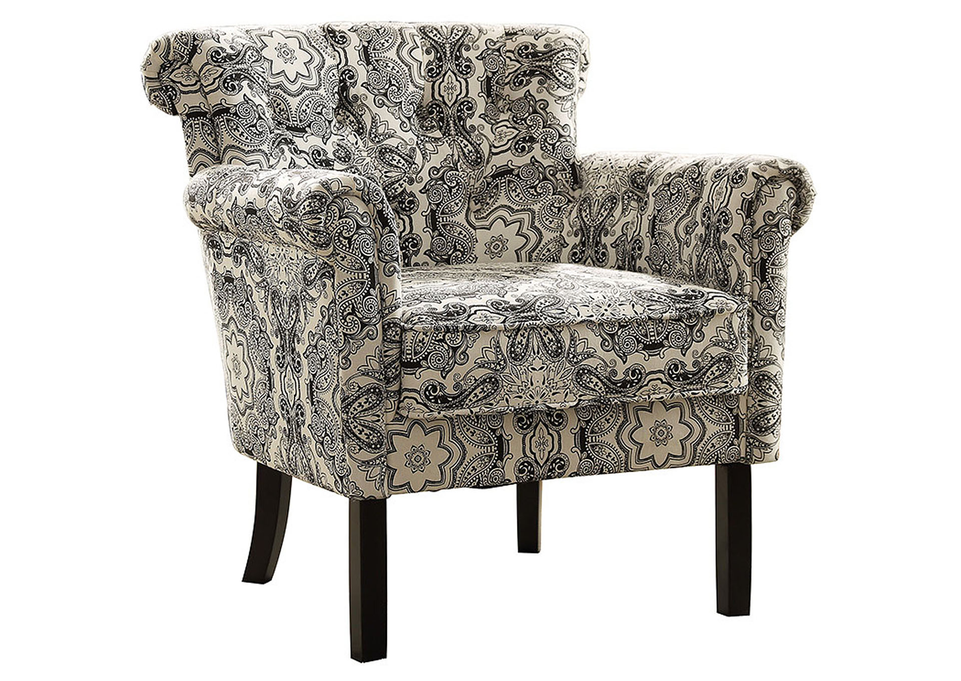 Prime Town Of Bargains Furniture Accent Chair Paisley Uwap Interior Chair Design Uwaporg