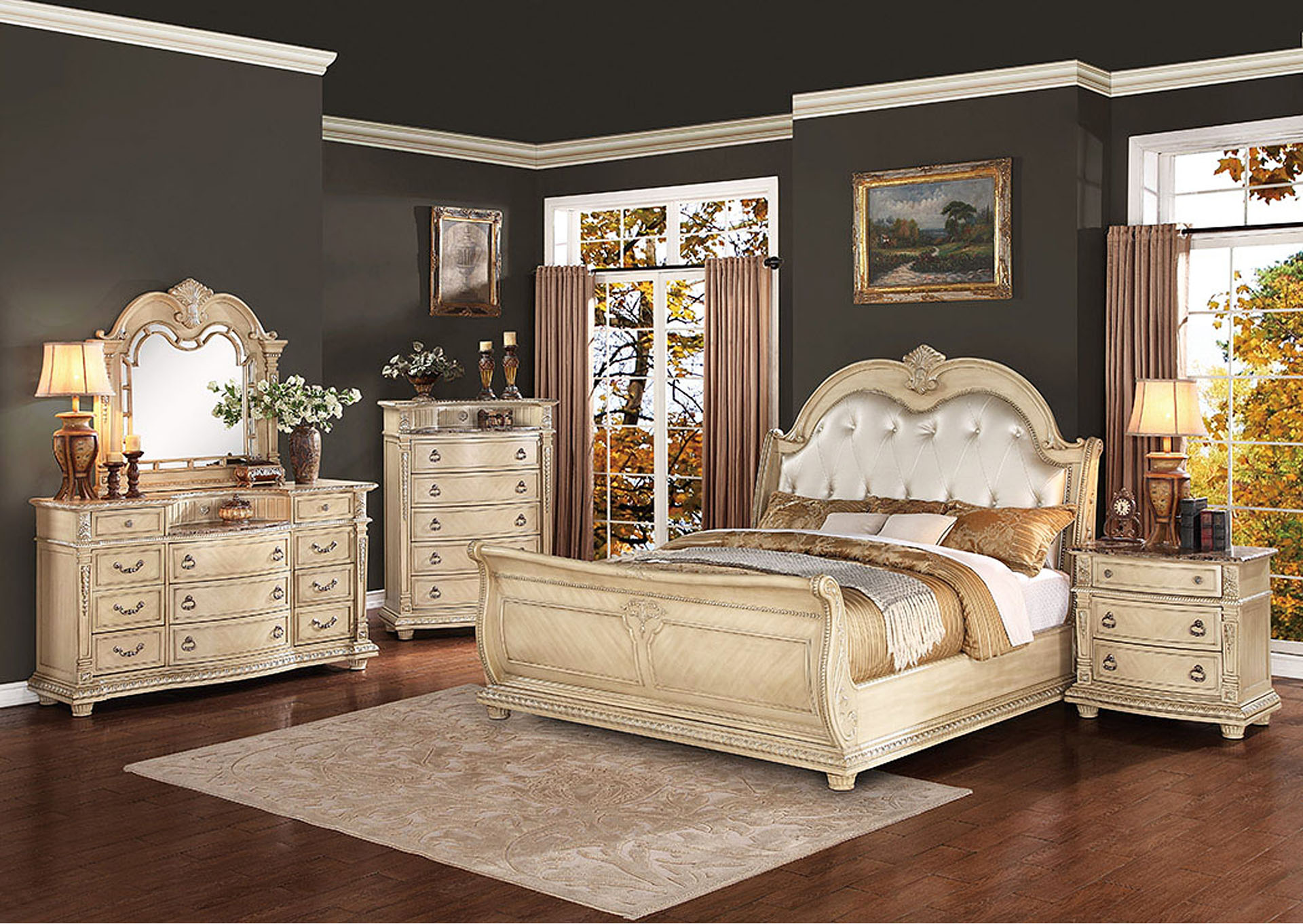Hot Buys Furniture >> Hot Buys Furniture | Snellville, GA Palace II White Queen