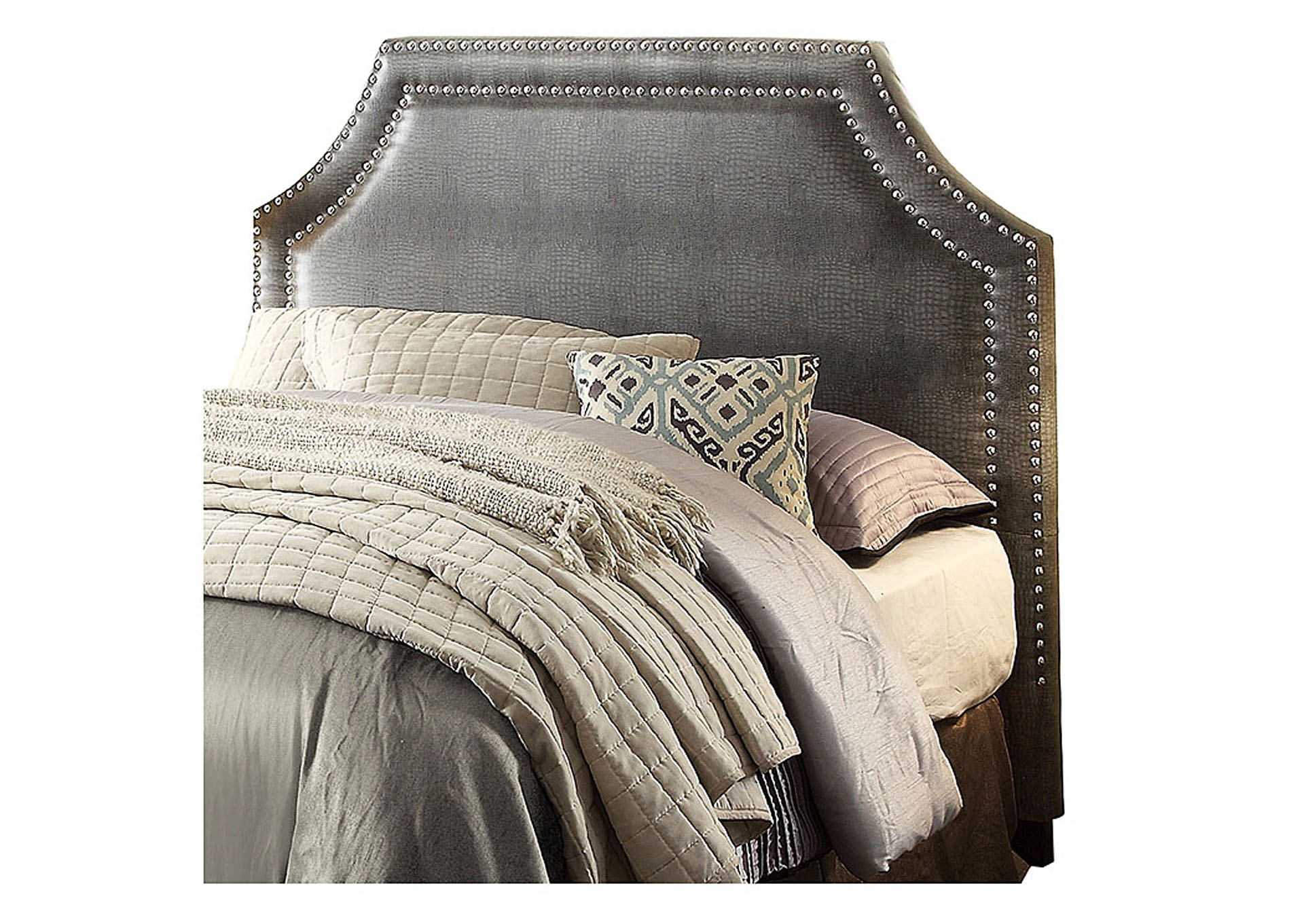Potrero Gray Queen/Full Headboard,Homelegance