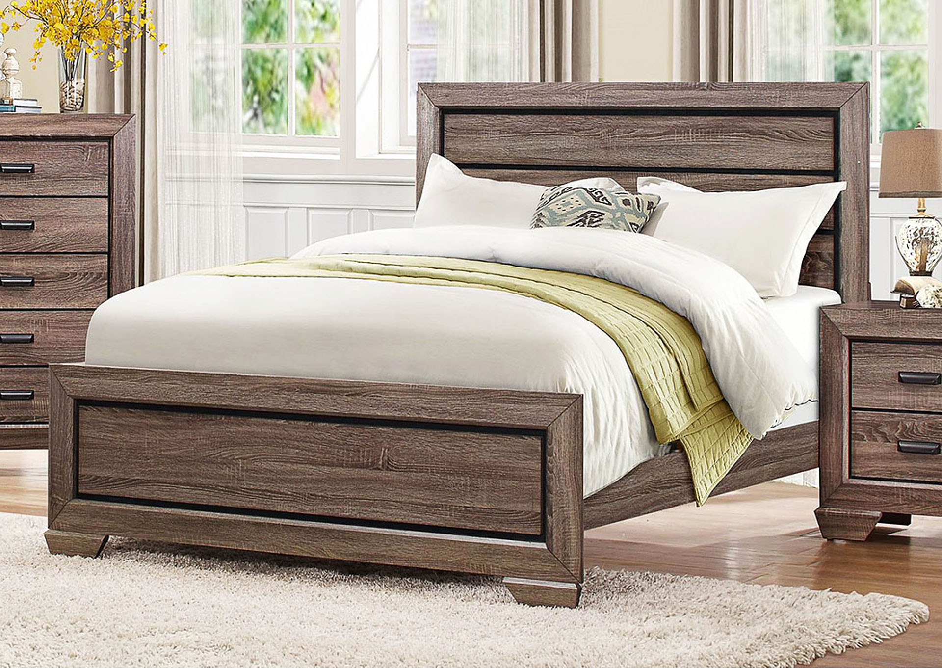 California King Bed,Homelegance
