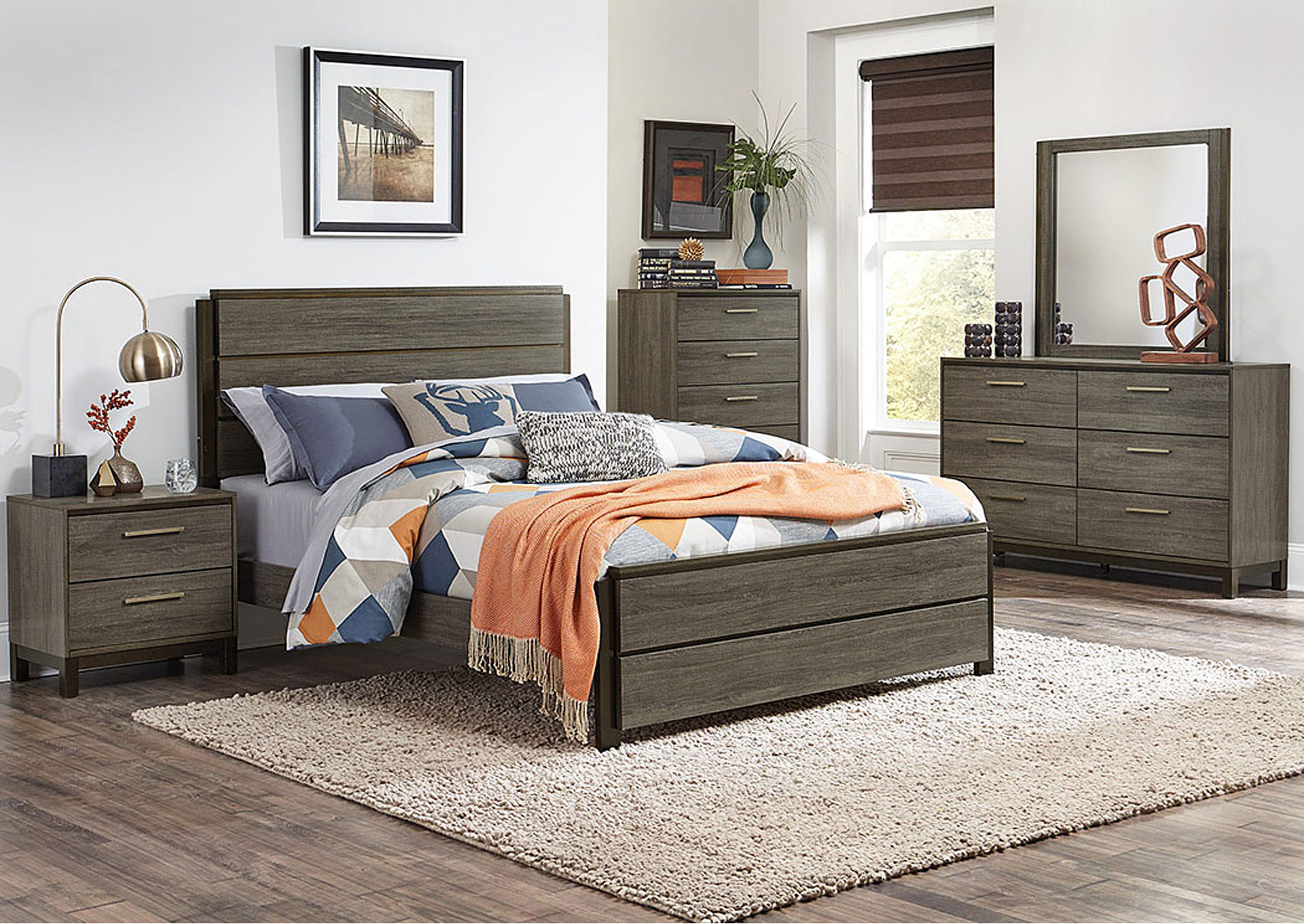 Queen Bed,Homelegance