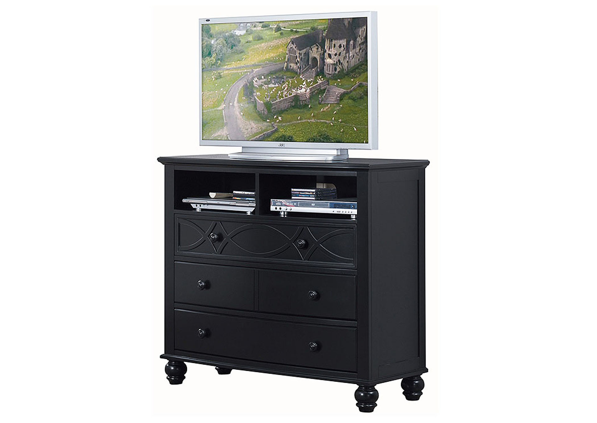 Sanibel Media Chest,Homelegance