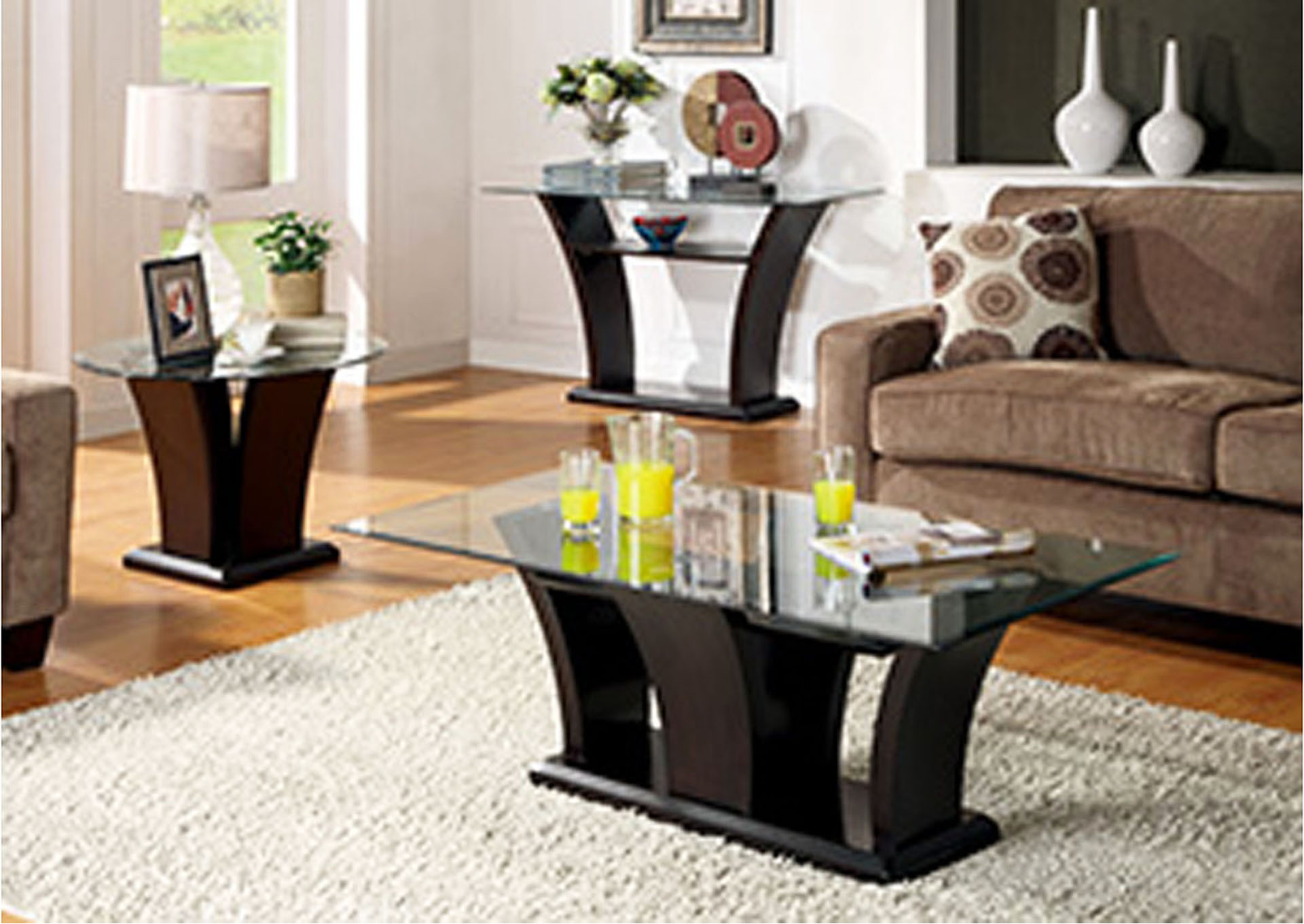 Fashion home furniture tx daisy glass top sofa table daisy glass top sofa tablehomelegance watchthetrailerfo