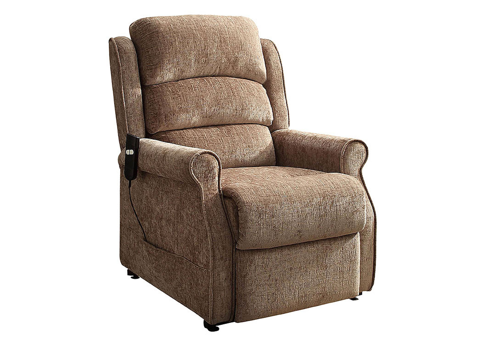 Milford Chenille Power Lift Chair,Homelegance