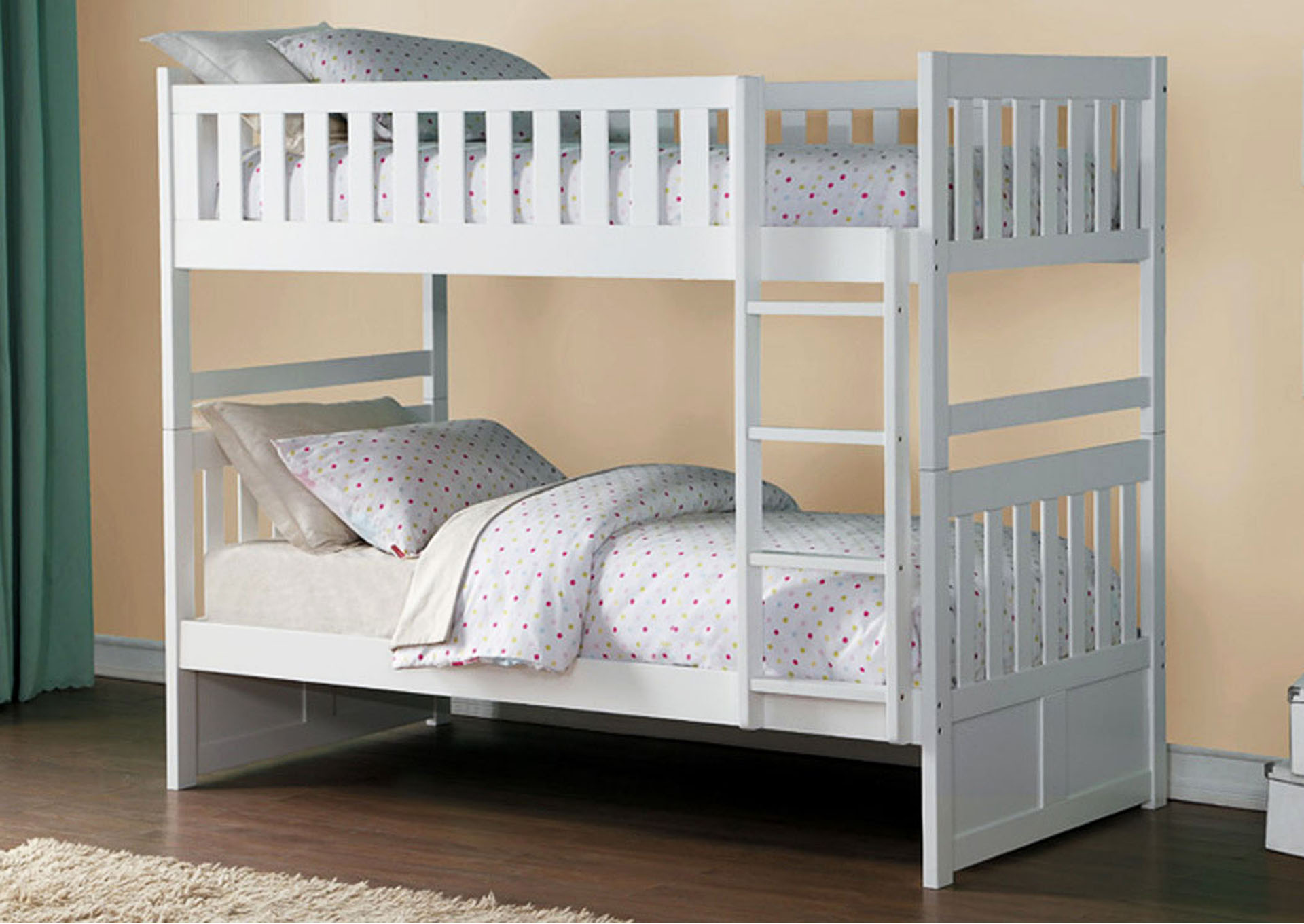 Twin/Twin Bunk Bed,Homelegance
