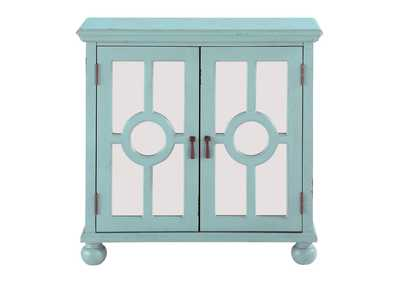 Image for Poppy Aqua Accent Chest