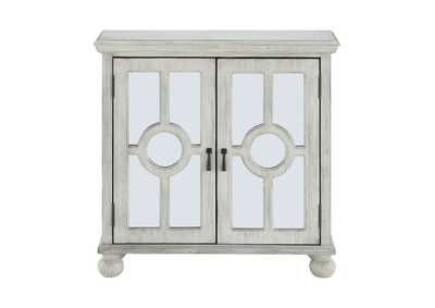 Poppy White Accent Chest