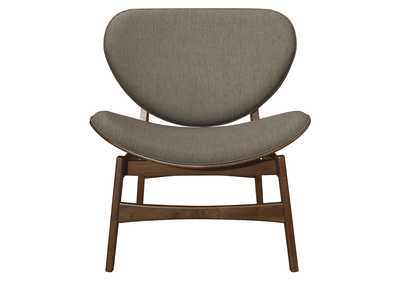Savry Grey Brown Lounge Chair