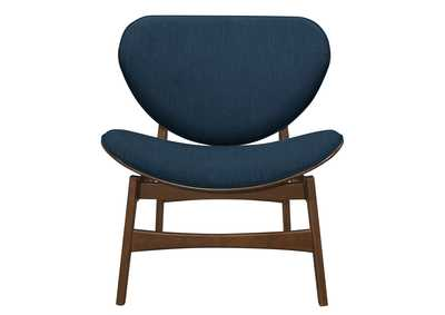 Savry Dark Blue Lounge Chair