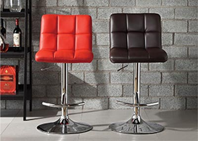 Ride Airlift Brown Swivel Stool