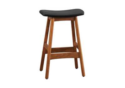 Ride Matte Black Counter Height Stool [Set of 2]