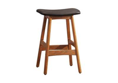 Ride Matte Brown Counter Height Stool [Set of 2]