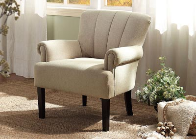 Langdale Beige Accent Chair