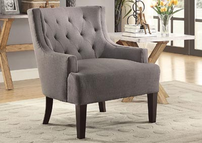 Dulce Espresso Accent Chair