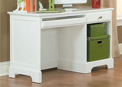 Image for Morelle White Writing Desk