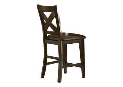 Image for Crown Point Merlot Counter Height Chair [Set of 2]